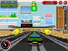 3D Retro Yarışçıları Oyunu
