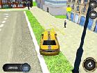 3D Taksi Sürücüsü Oyunu