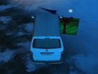 3D Yılbaşı Arabası Parketme Oyunu