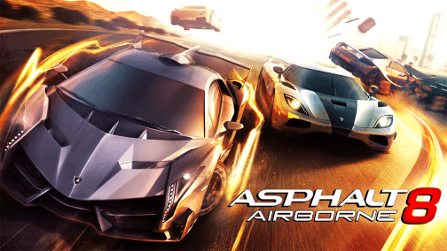 Asphalt 8 Airborne Oyunu